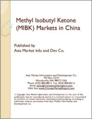 Methyl Isobutyl Ketone (MIBK) Markets in China