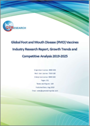 Global Foot and Mouth Disease (FMD) Vaccines Industry Research Report, Growth Trends and Competitive Analysis 2019-2025