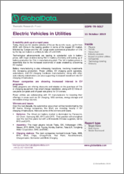 Electric Vehicles in Utilities - Thematic Research