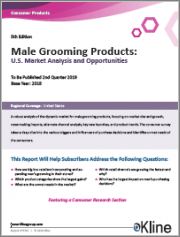 Male Grooming Products: U.S. Market Analysis and Opportunities