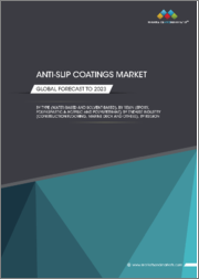 Anti-Slip Coating Market by Resin (Epoxy, Polyurethane, Polyaspartic & Acrylic), Type (Water-based, Solvent-based), End-use Industry, and Region (North America, Europe, APAC, Middle East & Africa, South America) - Global Forecast to 2023