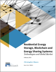 Residential Energy Storage, Blockchain and Energy Sharing Systems: Technologies and Global Market