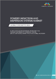 Powder Induction and Dispersion Systems Market by Application (Food & Beverages, Pharmaceuticals, Personal Care Products, Chemicals), Process (Batch, Continuous), Mixing Type (Inline, In-tank), and Region - Global Forecast to 2023