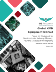 Global CVD Equipment Market: Focus on Equipment for Semiconductor Industry (Memory, Foundry & Logic) and Geography - Analysis and Forecast 2018-2023