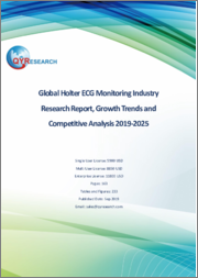 Global Holter ECG Monitoring Industry Research Report, Growth Trends and Competitive Analysis 2019-2025