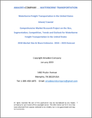 Waterborne Freight Transportation in the United States: 2018-2023