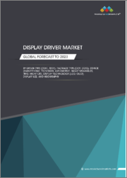 Display Driver Market by Driver Type (DDIC, TDDI), Package Type (COF, COG), Device (Smartphone, Television, Automotive, Smart Wearables, HMD, Monitor), Display Technology (LCD, OLED), Display Size, and Geography - Global Forecast to 2023