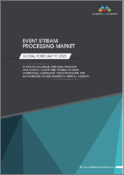 Event Stream Processing Market by Application (Fraud Detection, Predictive Maintenance, Algorithmic Trading, and Network Monitoring), Component, Deployment Mode, Type (Data Integration and Analytics), Vertical, and Region - Global Forecast to 2023