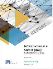 Infrastructure as a Service (IaaS): Global Markets to 2023