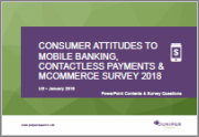 Commerce Survey - Consumer Attitudes to Mobile Banking, Contactless Payments & mCommerce Survey: UK/US January 2019