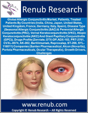 Global Allergic Conjunctivitis Market, Patients, Treated Patients, by Countries (India, China, Japan, US, UK, etc), Disease Type(SAC, PAC, VKC, AKC, GPC), Drugs Profile (Zerviate, OTX-DP, ADX-102, PRT-2761, etc) Companies, Growth Drivers & Challenges