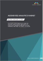 Augmented Analytics Market by Software, Service (Training and Consulting, Deployment and Integration, and Support and Maintenance), Organization Size (SMES and Large Enterprises), Deployment Type, Vertical, and Region - Global Forecast to 2023