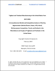 Tugboat and Towboat Manufacturing in the United States from 2017-2023: A Comprehensive Market and Competitive Analysis of the Size, Segmentation, Competition, Trends and Outlook in the Manufacture and Supply of Tugboats and Towboats in the United States
