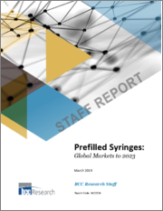 Prefilled Syringes: Global Markets to 2023