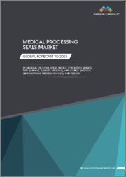 Medical Processing Seals Market by Material (Silicone, EPDM, Metals, PTFE, Nitrile Rubber), Type (O-Rings, Gaskets, Lip Seals), Application (Medical Equipment and Medical Devices), and Region - Global Forecast to 2023
