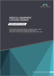 Medical Equipment Cooling Market by Type (Liquid & Air-based Cooling), Compressor (Scroll, Screw, Centrifugal, Reciprocating), Configuration (Packaged, Modular, Split), Application, End User - Global Forecast to 2024