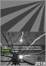 Alzheimer's Disease: Pipeline Review, Developer Landscape and Competitive Insights