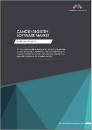 Cancer Registry Software Market by Type (Standalone, Integration), Delivery (On-premise, Cloud), Database (Commercial, Public), Functionality (Cancer Reporting, Patient Care, Medical Research), End User, Region - Global Forecast to 2024
