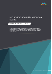 Micro-Location Technology Market by Application (Asset Management, Proximity Marketing), Technology (BLE, UWB, Wi-Fi, RFID), Offering, Vertical (Retail and Hospitality, Healthcare, Industrial, Transportation, Sports), Geography - Global Forecast to 2024