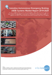 Automotive Autonomous Emergency Braking (AEB) Systems Market Report 2019-2029: Forecasts by Vehicle/Product Type, by Technology, Analysis of Leading Automotive OEMs, Tier 1 Suppliers & Electronics Companies Developing ADAS Technologies