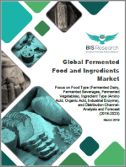 Global Fermented Food and Ingredients Market: Focus on Food Type (Fermented Dairy, Fermented Beverages, Fermented Vegetables), Ingredient Type (Amino Acid, Organic Acid, Industrial Enzyme), and Distribution Channel- Analysis and Forecast (2018-2023)