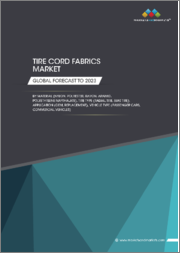 Tire Cord Fabrics Market by Material (Nylon, Polyester, Rayon, Aramid, Polyethylene Napthalate), Tire Type (Radial Tire, Bias Tire), Application (OEM, Replacement), Vehicle Type (Passenger Cars, Commercial Vehicles) - Global Forecast to 2023