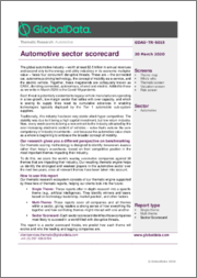 Automotive Sector Scorecard: Thematic Research