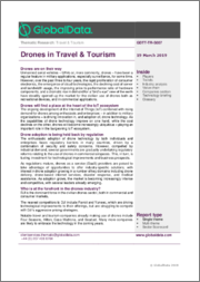 Drones in Travel & Tourism - Thematic Research