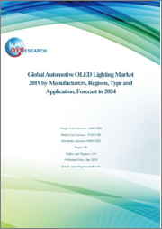 Global Automotive OLED Lighting Market 2019 by Manufacturers, Regions, Type and Application, Forecast to 2024