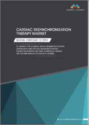 Cardiac Resynchronization Therapy Market by Product Type (Cardiac Resynchronization Therapy Defibrillator and Cardiac Resynchronization Therapy Pacemaker), End User (Hospitals & Cardiac Centers and Ambulatory Surgery Centers) - Global Forecast to 2024