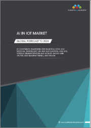 AI in IoT Market by Component (Platforms, Software Solutions, and Services), Technology (ML and Deep Learning, and NLP), Vertical (Transportation and Mobility, Energy and Utilities, Manufacturing, and Retail), and Region - Global Forecast to 2024