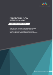 Fractional Flow Reserve Market by Technology (Invasive Monitoring, Non-invasive Monitoring), Invasive Monitoring Product (Pressure Guidewires, FFR Measurement Systems), Application, and Region - Global Forecast to 2024