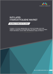 Butylated Hydroxytoluene Market by Grade (Food Grade, Technical Grade), End-Use Industry (Plastics & Rubbers, Food & Beverages, Animal Feed, Personal Care), Region (APAC, Europe, North America, South America, MEA) - Global Forecast to 2024