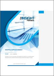Hospital Supplies Market to 2027 - Global Analysis and Forecasts by Type, and Geography