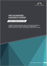 Pre-engineered Buildings Market by Structure (Single-story, Multi-story), Application (Warehouses & industrial, Infrastructure, Commercial), & Region (North America, Asia Pacific, Europe, South America, Middle East & Africa) - Global Forecast to 2024
