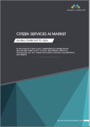 Citizen Services AI Market by Application (Traffic and Transportation Management, Healthcare, Public Safety, Utilities, and General Services), Technology (ML, NLP, Image Processing, and Face Recognition), and Region - Global Forecast to 2024