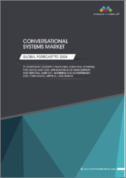 Conversational Systems Market by Component (Compute Platforms, Solutions, Services), Type (Voice and Text), Application (Customer Support and Personal Assistant, Branding and Advertisement, and Compliance), Vertical, and Region - Global Forecast to 2024