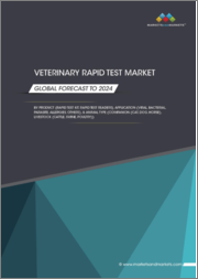 Veterinary Rapid Test Market by Product (Rapid Test Kit, Rapid Test Readers), Application (Viral, Bacterial, Parasite, Allergies), and Animal Type (Companion (Cat, Dog, Horse), Livestock (Cattle, Swine, Poultry)) - Global Forecast to 2024