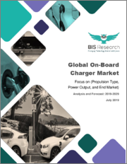 Global On-Board Charger Market: Focus on (Propulsion Type, Power Output, and End Market) - Analysis and Forecast, 2019-2029