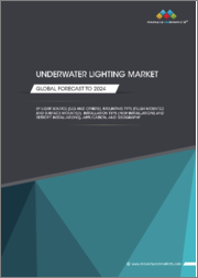 Underwater Lighting Market by Light Source (LED, Halogen, Metal Halide Lamps), Mounting Type (Flush Mounted and Surface Mounted), Installation Type (New Installations and Retrofit Installations), Application, and Region - Global Forecast to 2024