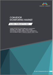 Conveyor Monitoring Market by (Technology, Offering, Deployment Type), Conveyor Belt Monitoring, Industry (Mining, Power Generation), and Geography (North America, Europe, APAC, RoW) - Global Forecast to 2024