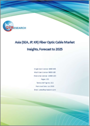 Asia (SEA, JP, KR) Fiber Optic Cable Market Insights, Forecast to 2025