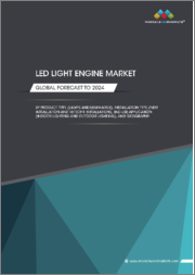 LED Light Engine Market by Product Type (Lamps and Luminaires), Installation Type (New Installation and Retrofit Installation), End-Use Application (Indoor Lighting and Outdoor Lighting), and Geography - Forecast to 2024