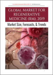 Global Market for Regenerative Medicine (RM), 2019
