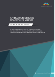 Application Delivery Controller Market by Type (Hardware-based, Virtual), Service (Integration and Implementation, Training, Support, and Maintenance), Organization Size (SME, Large Enterprise), Vertical, and Region - Global Forecast to 2024