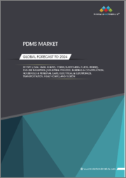 PDMS Market by Type (LMW, HMW, UHMW), Form (Elastomers, Fluids, Resins), End-Use Industries (Industrial Process, Building & Construction, Household & Personal Care, Electrical & Electronics, Transportation, Healthcare), Region - Global Forecast to 2024