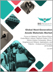 Global Next-Generation Anode Materials Market: Focus on Material Type {Silicon/Silicon Oxide Blend, Lithium Titanium Oxide (LTO), Silicon-Carbon Composite, Silicon-Graphene and Others}, Applications, and Patents- Analysis and Forecast, 2019-2029