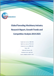 Global Tunneling Machinery Industry Research Report, Growth Trends and Competitive Analysis 2019-2025