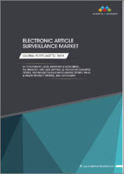Electronic Article Surveillance Market by Component (Tags, Antennas & Detachers), Technology, End User (Apparel & Fashion Accessories Stores, Supermarket & Mass Merchandise Stores, Drug & Health Product Stores), and Geography - Global Forecast to 2024