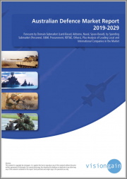 Australian Defence Market Report 2019-2029: Forecasts by Domain Submarket (Land-Based, Airborne, Naval, Space-Based), by Spending Submarket (Personnel, O&M, Procurement, RDT&E), Analysis of Leading Local & International Companies in the Market